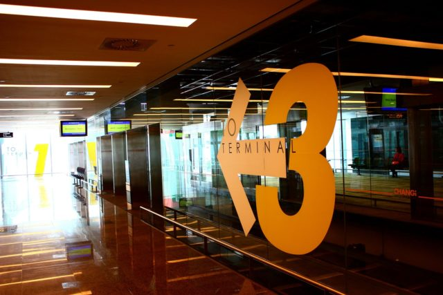 singapore airport terminal