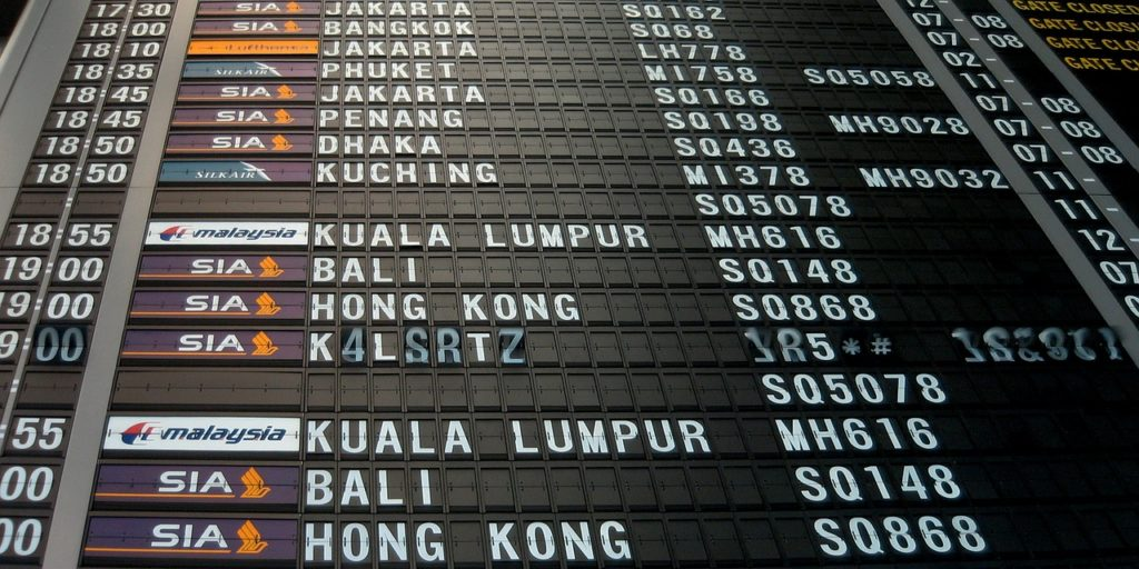 airport flight information