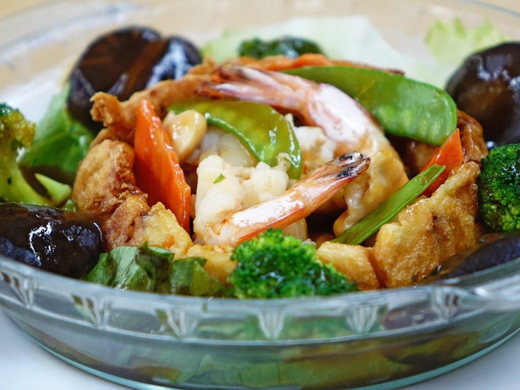 Chinese seafood dish