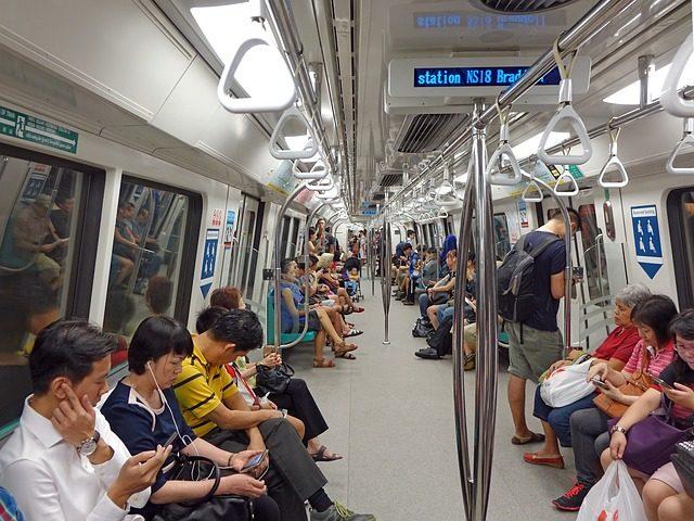 train seat layout