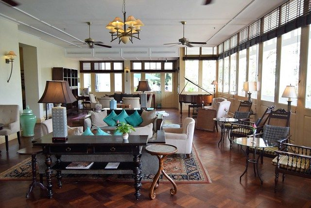 Raffles hotel room