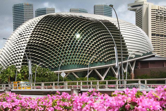 esplanade theatre durian